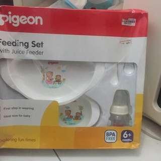 Feeding Set Pigeon - Persiapan MPASI reprice