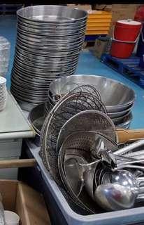 utensil/ stainless steel plate