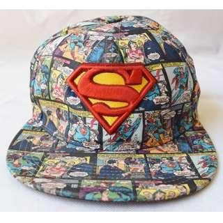 Superman Comic Snapback Cap Movie World