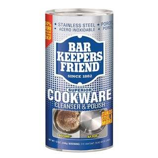 BKF Bar Keepers Friend Superior Cookware Cleanser and Polish 12 oz