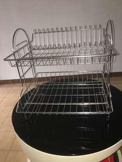 Dish rack (stainless steel)