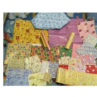 各式各樣散裝花紙!環保再用!圖一為紙質;圖二為膠質(HK$10all)