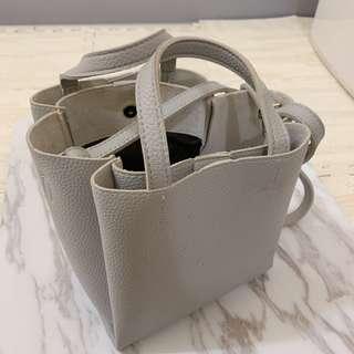 🚚 ❤️灰色 三層 包包