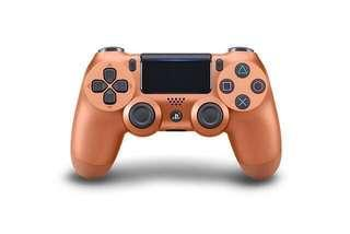 🧧CNY SALE🧧 Sony PS4 controller DS4 dualshock 4 wireless controller 2018 [New Color] Copper #precny60