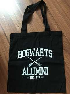 Harry potter custom made tote bag