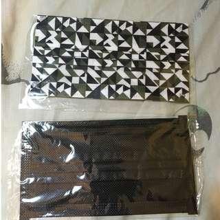 潮流口罩 HK$8兩個(迷彩款/全黑色)