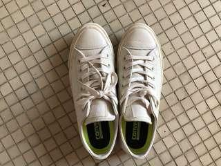Leather Converse (pearl / white)