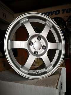 Te37 silver colour