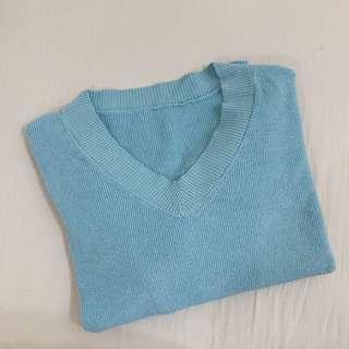 🚚 ❤️毛衣 軟身 藍色 寬鬆款