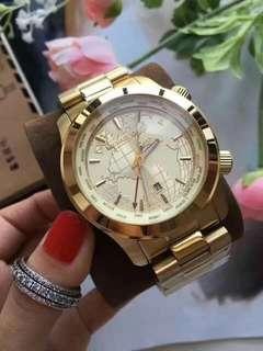unisex oversize mk watch