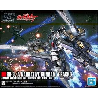 HG 1/144 Narrative Gundam (A-Packs)