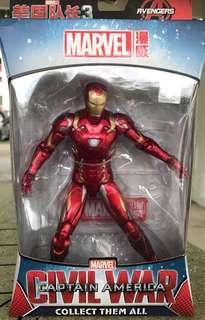 Marvel Avengers Iron Man 1/12 scale Action Figure BNIB