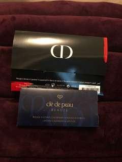 Cdp Dior lipstick sample