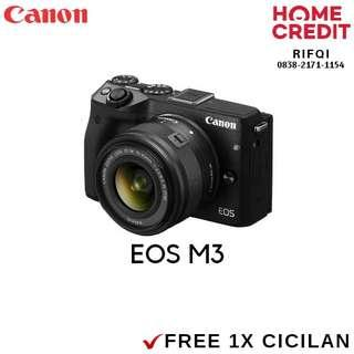 Kredit Canon EOS M3 Proses Cair 3 Menit Bisa DP 820rb