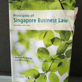 Principles of Singapore Business Law (SMU Textbook)