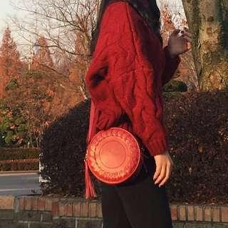 REPRICED! Bohemian Tassel Sling Bag