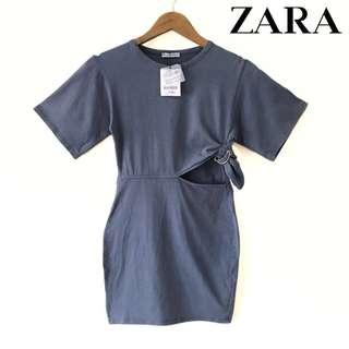 [FREE DELIVERY] Zara Buckled Up Special Dye Dress