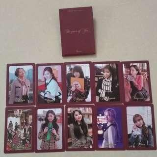 WTS TWICE OFFICIAL PRE ORDER PO BENEFIT PHOTOCARD