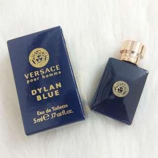 🚚 ❰保證正品❱VERSACE 凡賽斯狄倫 正藍男性迷你淡香水 5ml 香水 男香 小香
