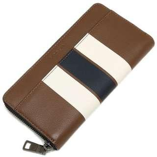 Authentic Coach F75395 Accordion Wallet in Varsity Leather