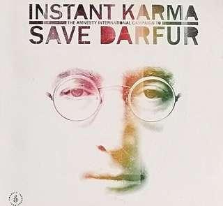 arthcd INSTANT KARMA - SAVE DARFUR 2CD (Tribute to JOHN LENNON)