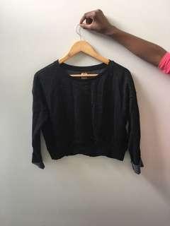 Brand New Zara speckled Cropped jumper