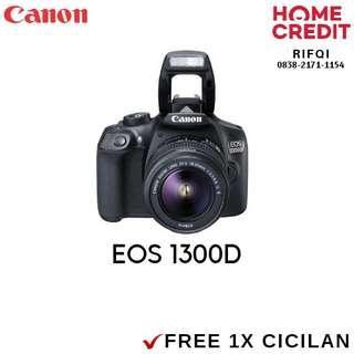 Kredit DSLR Canon 1300D Proses Cair 3 Menit