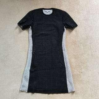 Calvin Klein wool knit dress