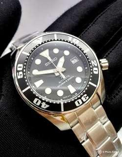 * FREE DELIVERY * JDM Brand New 100% Authentic Seiko Prospex Sumo Black Nens Automatic Divers Watch SBDC031