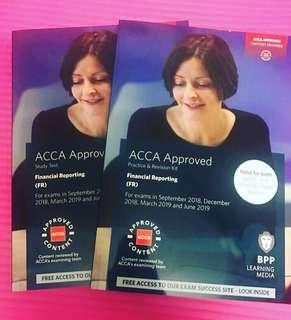 ACCA F7 FR Financial Reporting 1 set