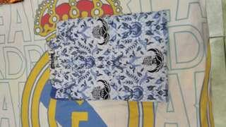 #maups4 Baju Kemeja Batik PNS Korpri Biru