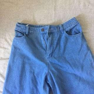 Mom Jeans Culottes