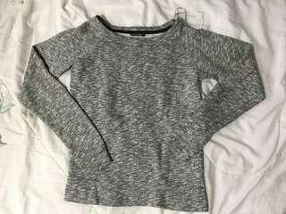Terranova grey pullover sweater
