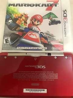 Nintendo 美版3DS連mariokart 7