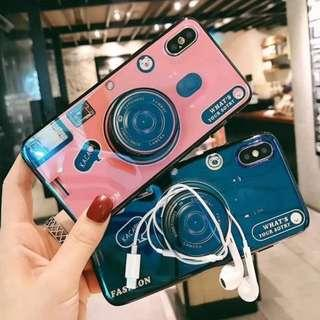 Camera popsocket holder phone case