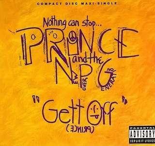 arthcd PRINCE & THE NEW POWER GENERATION Gett Off USA Press Maxi CD Single