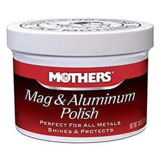 Mothers Mag & Aluminum Polish 10oz