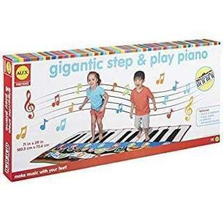 Gigantic Step & Play Piano 鋼琴腳踏墊