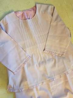 🌹CNY BN (plus size) sweet purple top and bottom set dress