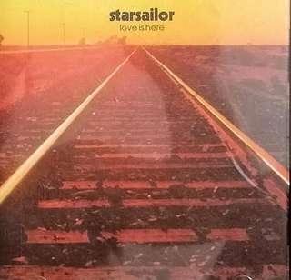 arthcd STARSAILOR Love Is Here CD