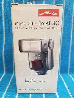 Metz 36 AF4 Canon