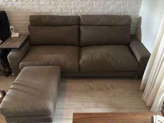 Muji 無印良品 鋼製羽絨獨立筒沙發椅 3人座 原價58050