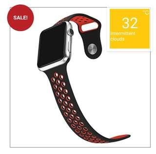 🚚 Limited sales Instock apple iwatch strap silicone sport