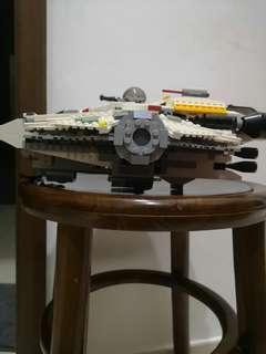 Lego Star Wars Ghost 75053 and Phantom 75048
