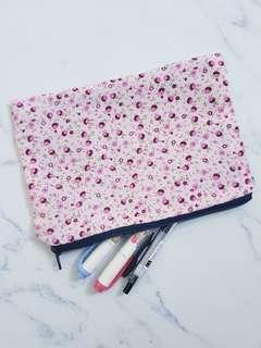 Floral Pencil Case/Pouch