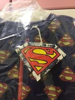 Superman 超人包腳睡衣