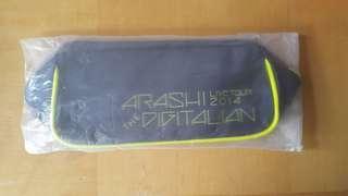 全新 嵐 Arashi Live Tour 2014 化妝袋 #松本潤#二宮和也#相業雅紀#櫻井翔#大野智