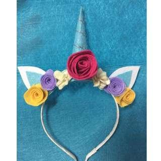 Unicorn hairband for girls