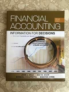 Financial Accounting: Information for Decisions (2nd Edition)