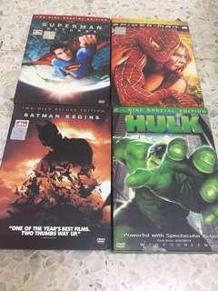 Superhero DVD Set #precny60